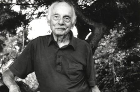 Stanley Kunitz the portrait