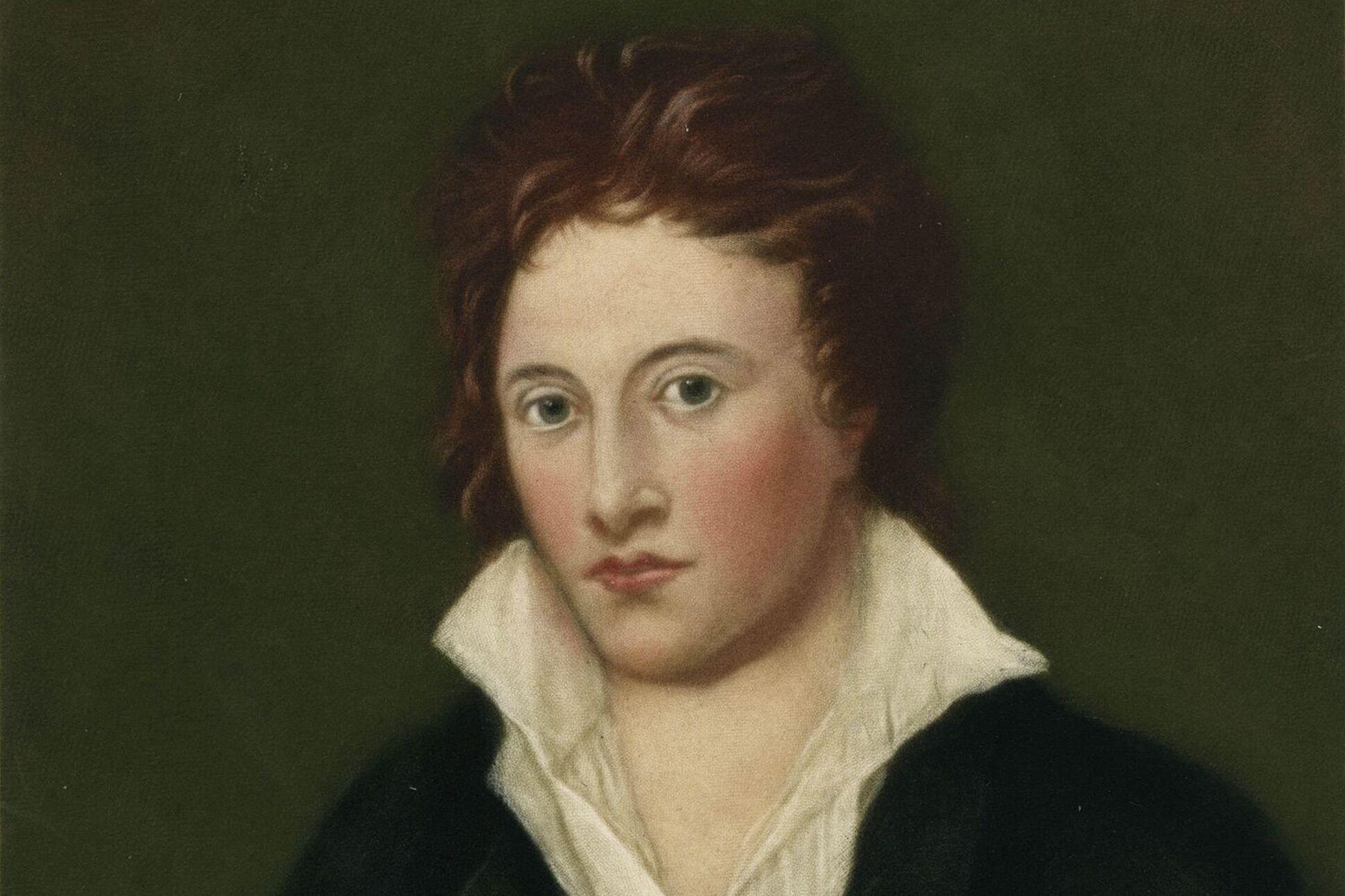 Kết quả hình ảnh cho Percy Bysshe Shelley