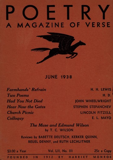 1938年6月诗刊封面