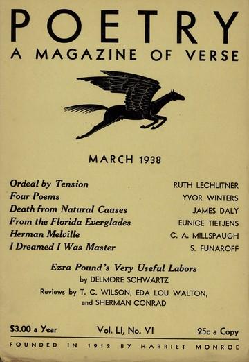 1938年3月诗刊封面