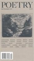 September 1993 Poetry Magazine cover
