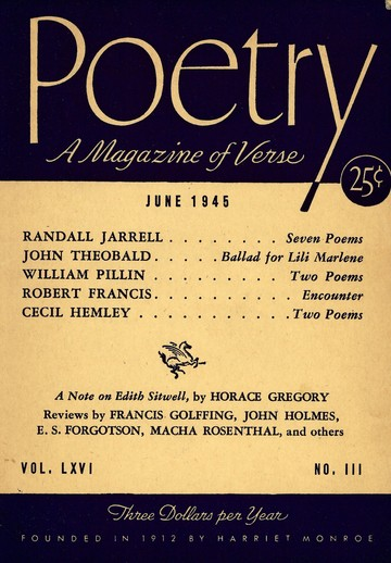 1945年6月诗刊封面
