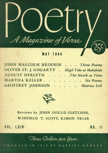 1944年5月诗刊封面