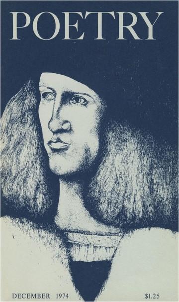 1974年12月诗刊封面