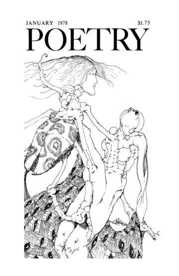 1978年1月诗歌杂志封面