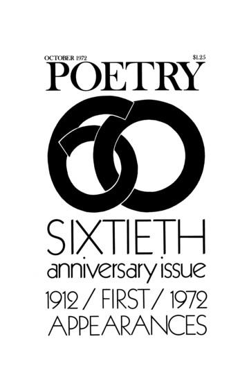 1972年10月诗歌杂志封面