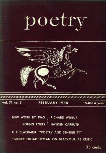1948年2月诗歌杂志封面