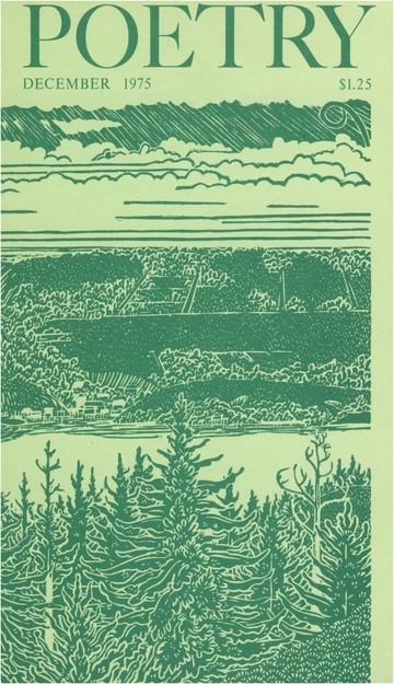 1975年12月诗歌杂志封面