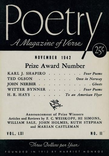 1942年11月诗刊封面