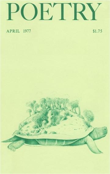 1977年4月诗刊封面