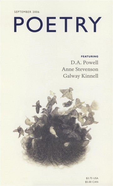 September 2006 Poetry Magazine cover