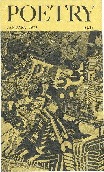 1973年1月诗歌杂志封面
