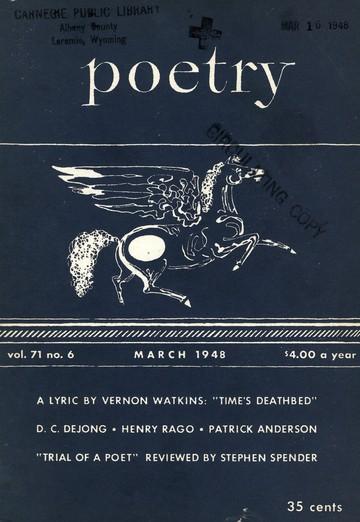 1948年3月诗刊封面
