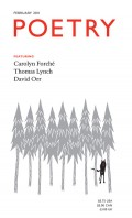 February 2011 Poetry Magazine cover