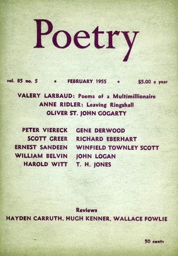 1955年2月诗刊封面