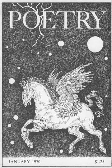 1970年1月诗歌杂志封面