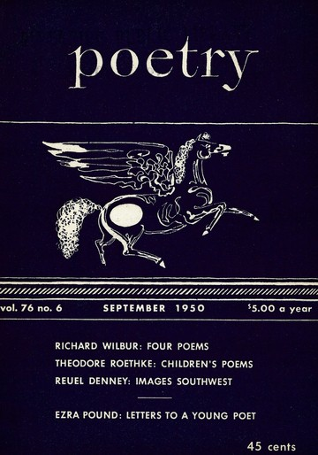 Letters to a Young Poet from Ezra Pound by Ezra Pound