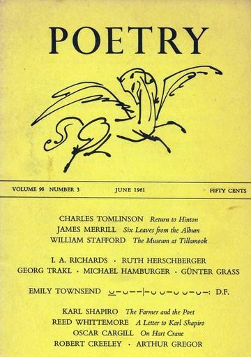 1961年6月诗刊封面