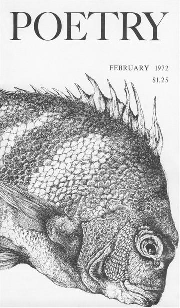 1971年12月诗刊封面