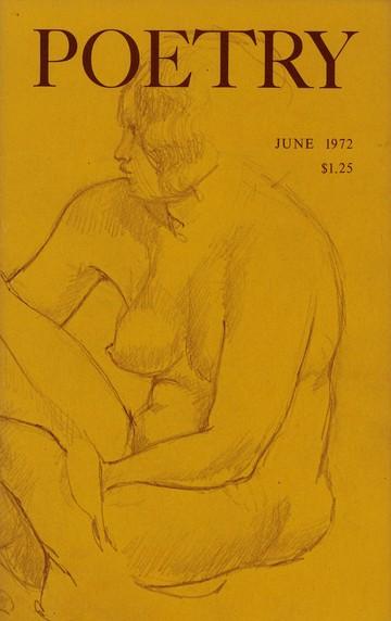 1972年6月诗歌杂志封面