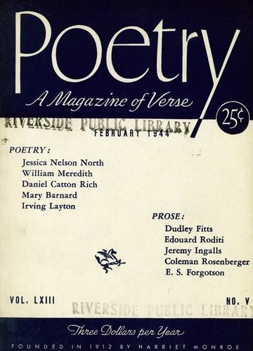 1944年2月诗刊封面
