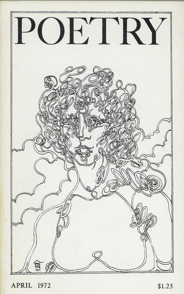 1972年4月诗歌杂志封面