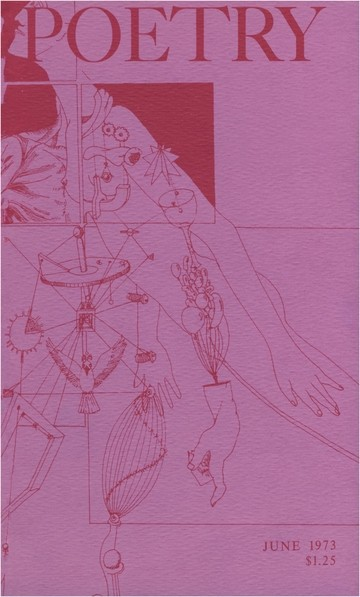 1973年6月诗歌杂志封面