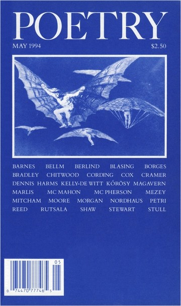 May 1994 Poetry Magazine cover