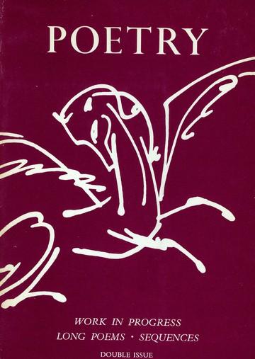 1963年10月/11月诗歌杂志封面