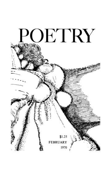 1970年2月诗歌杂志封面
