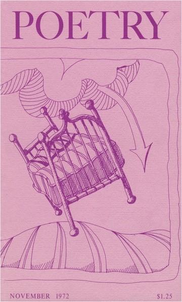 1972年11月诗歌杂志封面