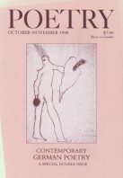 October 1998 Poetry Magazine cover