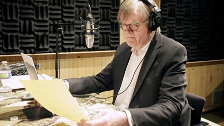 Garrison Keillor on loving poetry 'as clear statement'