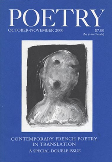 October 2000 Poetry Magazine cover