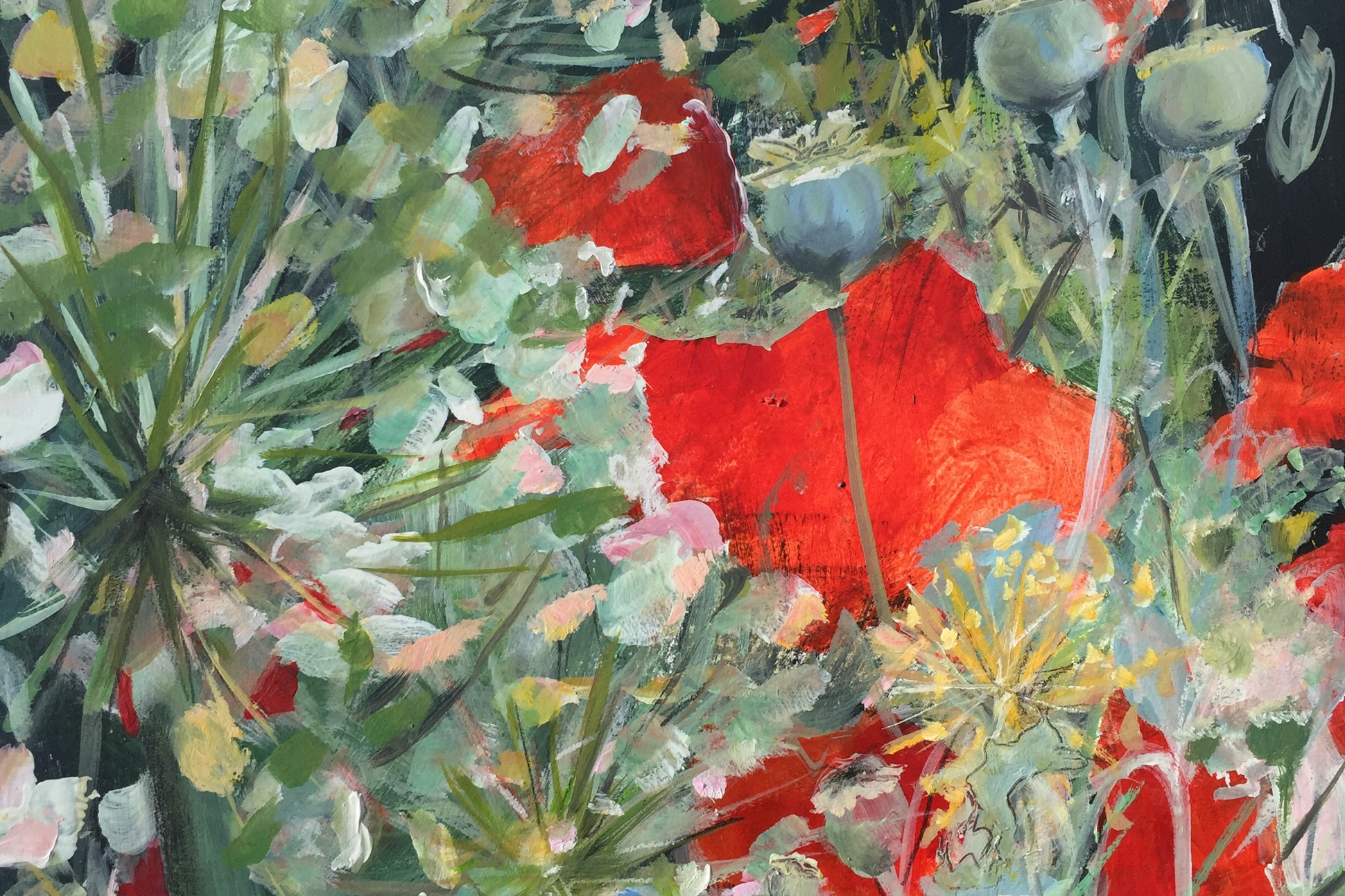 "Detail of ""Giverny"" by Sara Katz"