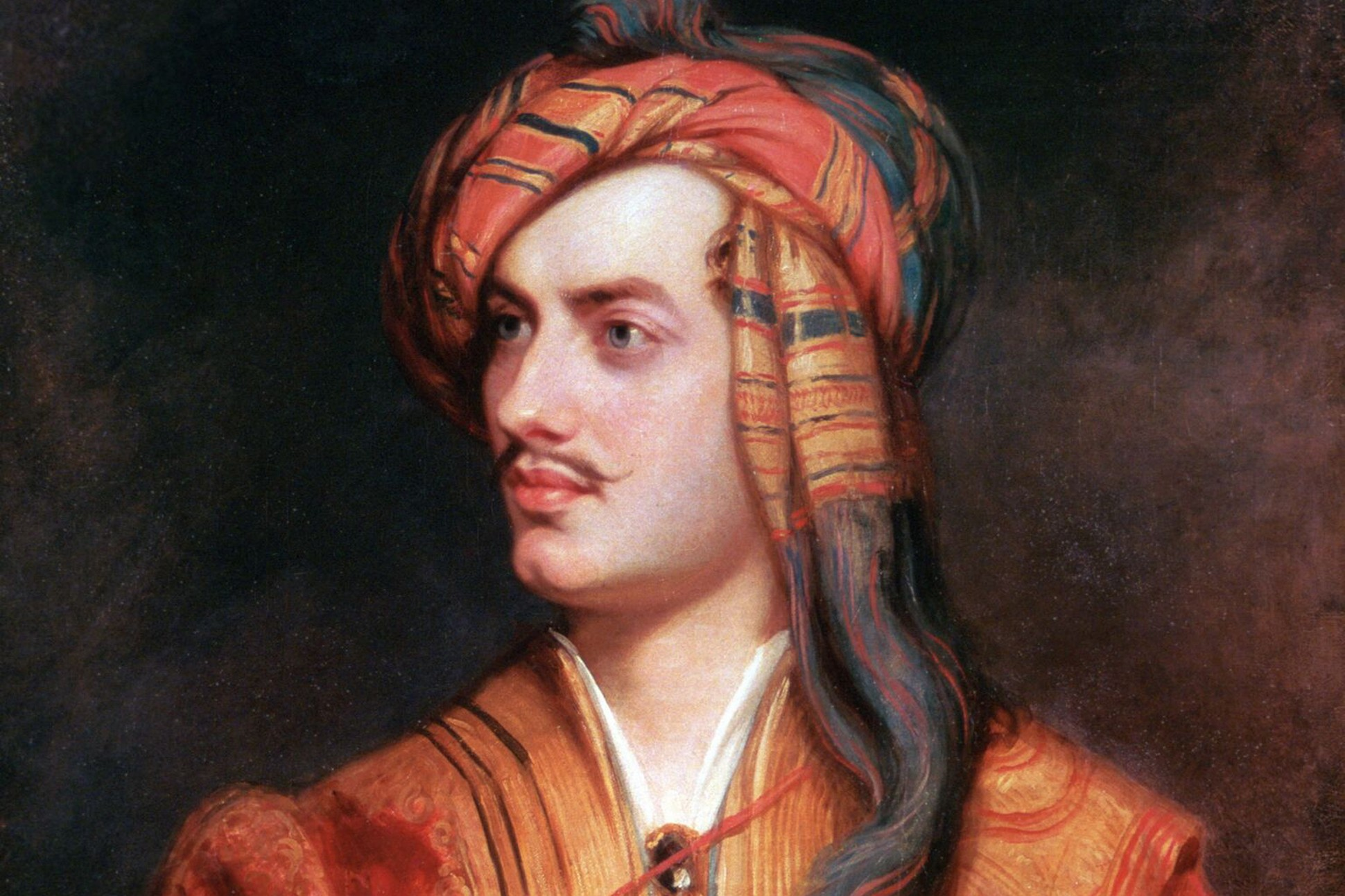 Painting of Lord Byron.