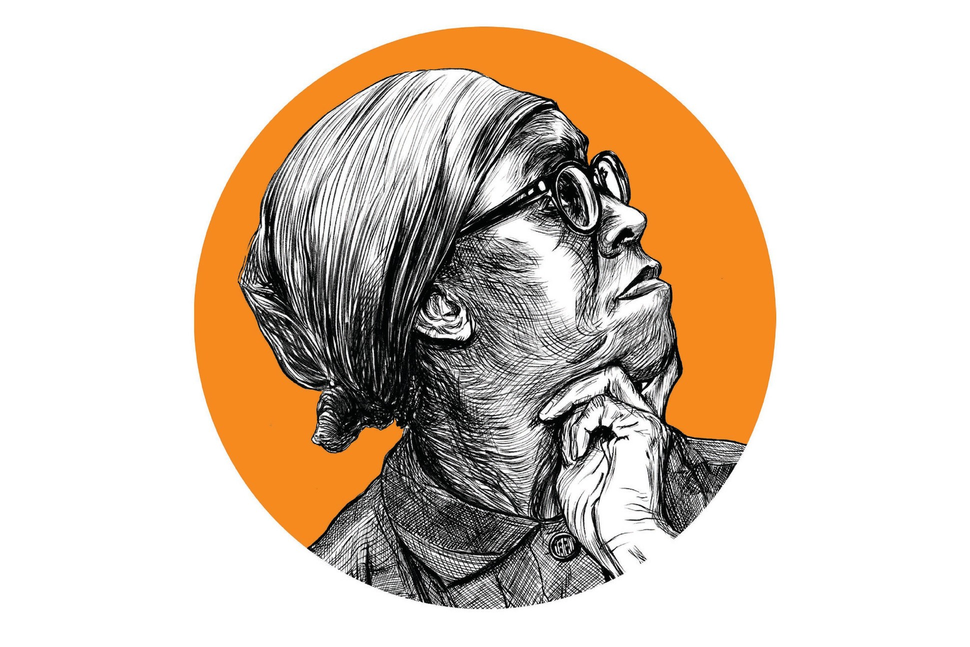 Sketch of Gwendolyn Brooks