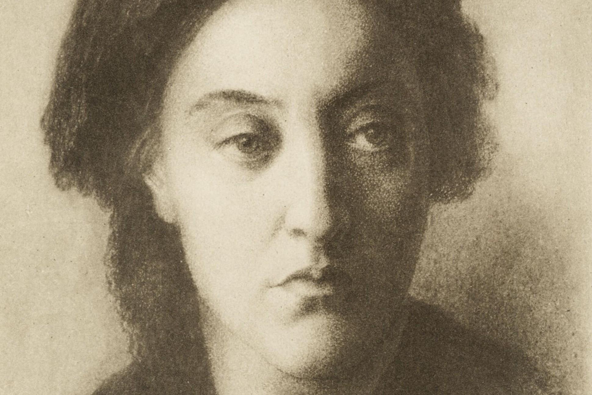 Image of Christina Rossetti.