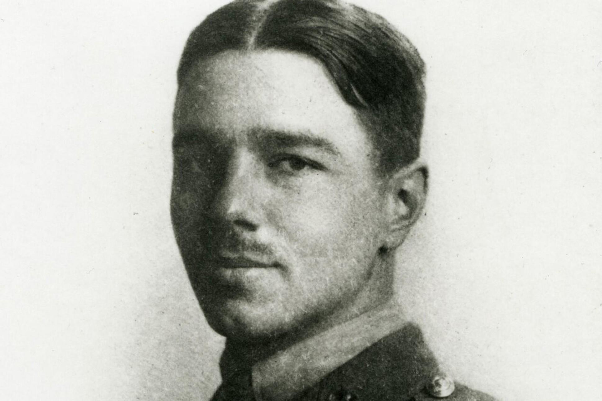 Image of Wilfred Owen.