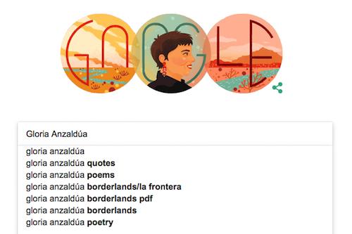 gloria e anzaldúa poems