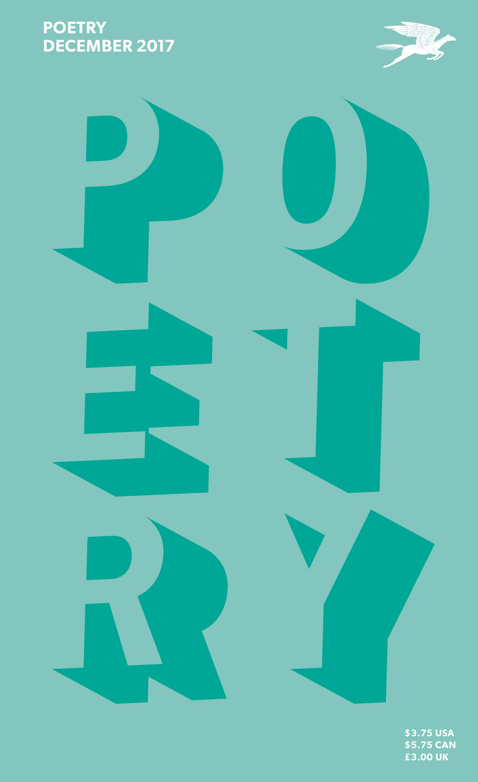 December 2017 Poetry Magazine cover
