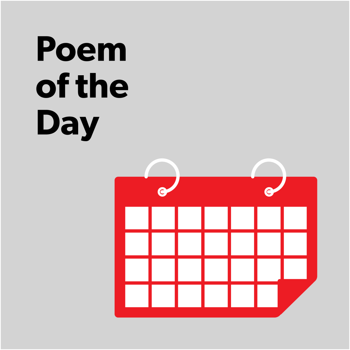 Audio Poem of the Day | Poetry Foundation