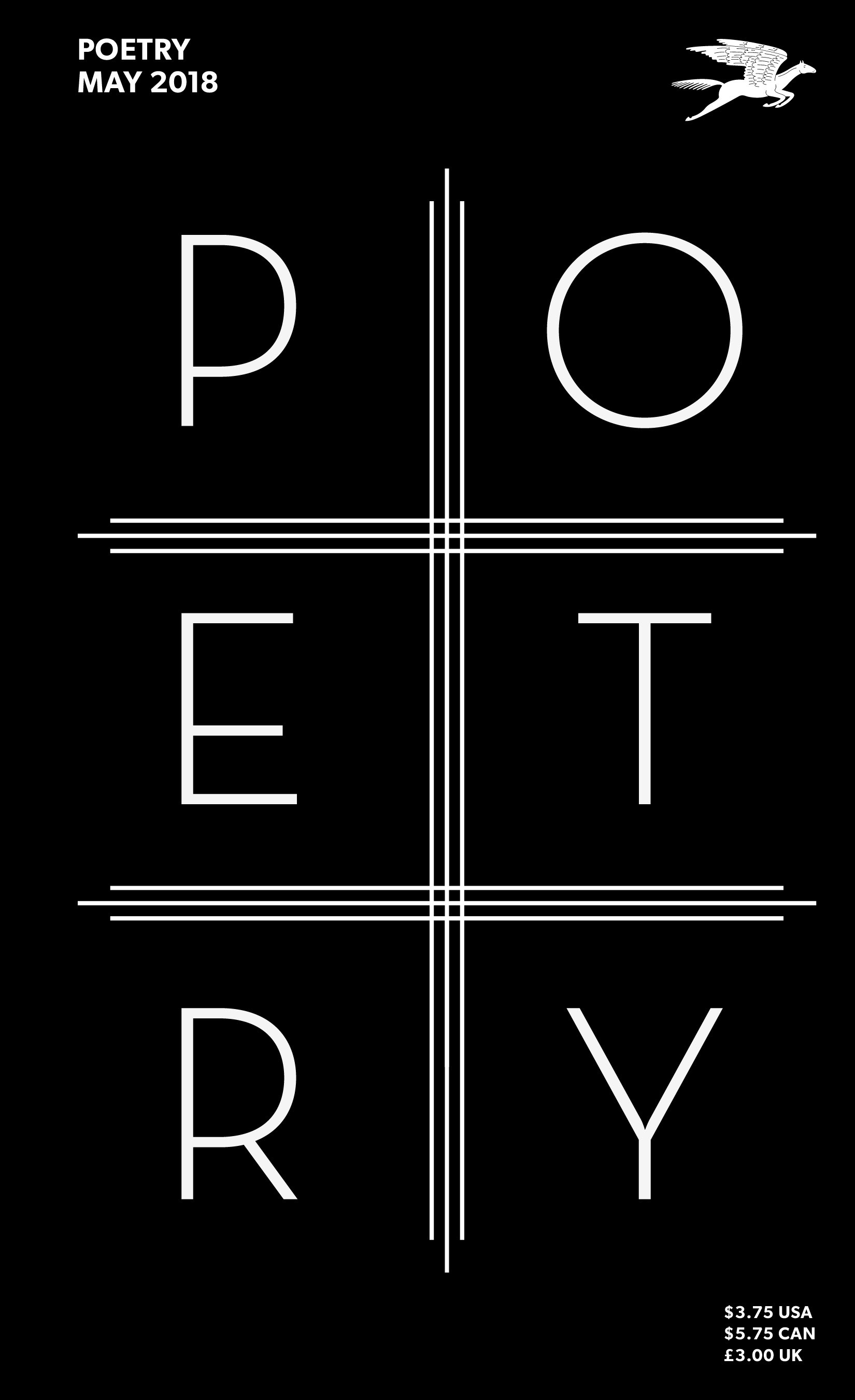 May 2018 Poetry Magazine cover
