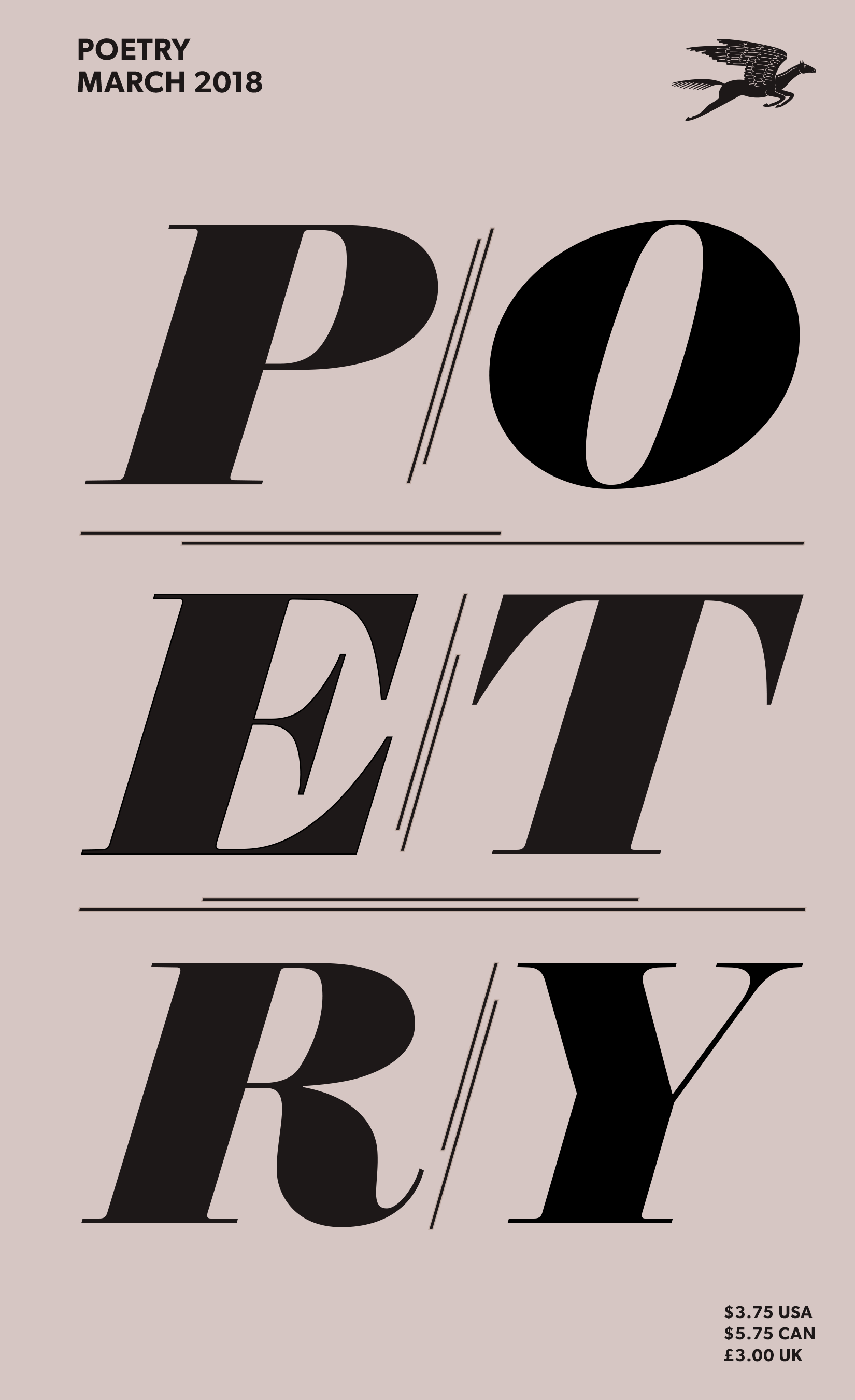 March 2018 Poetry Magazine cover