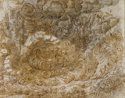 Leonardo_da_Vinci, Deluge Drawing
