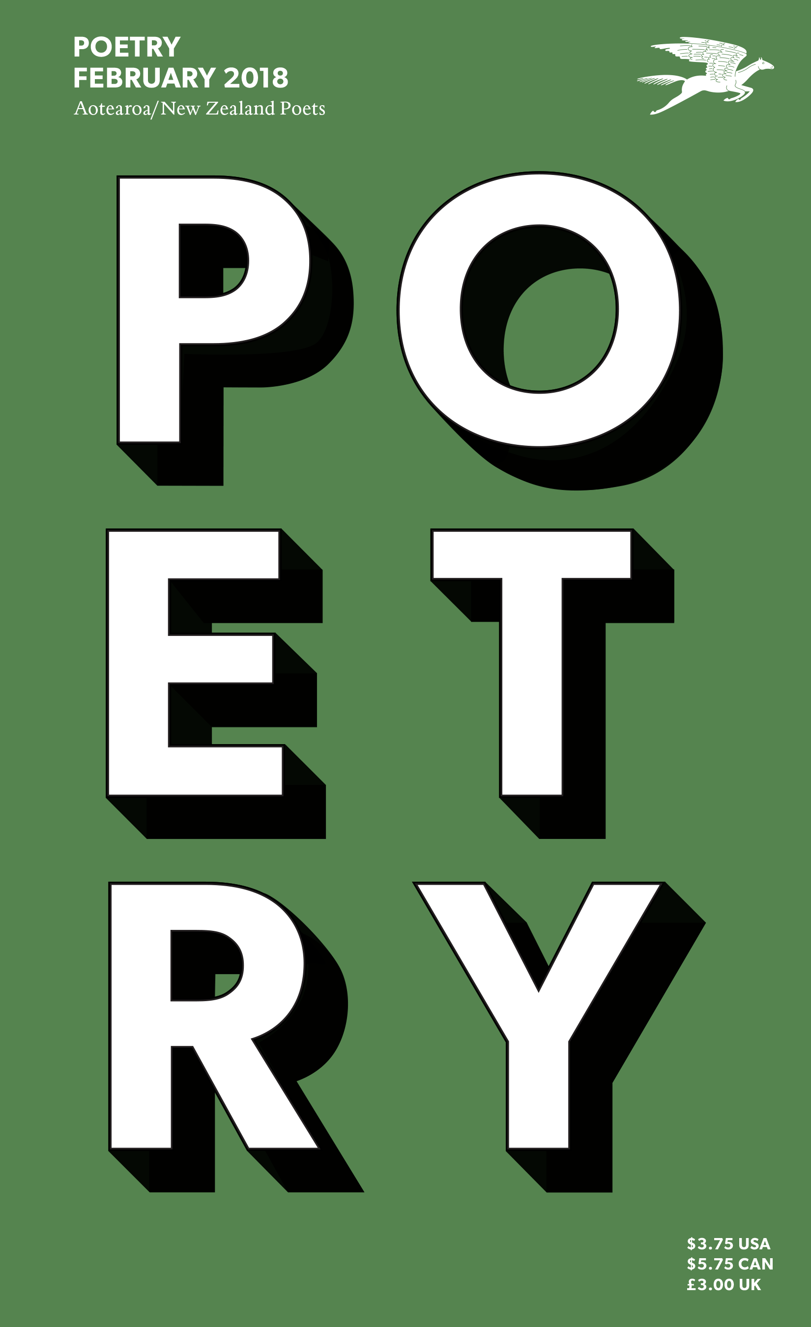 February 2018 Poetry Magazine cover