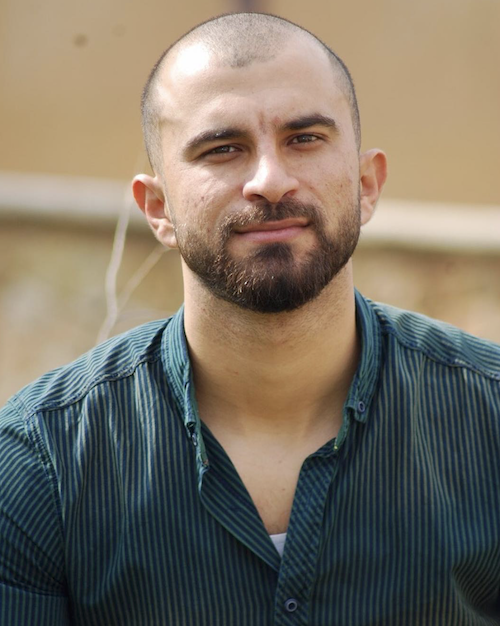 Emad Bashar. Photo courtesy the poet.