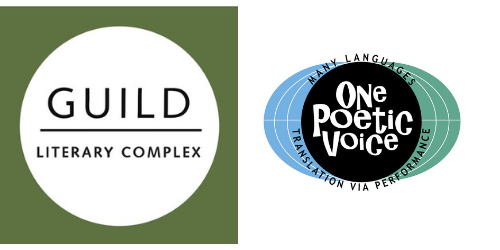 Logos for Guild Literary Complex and One Poetic Voice