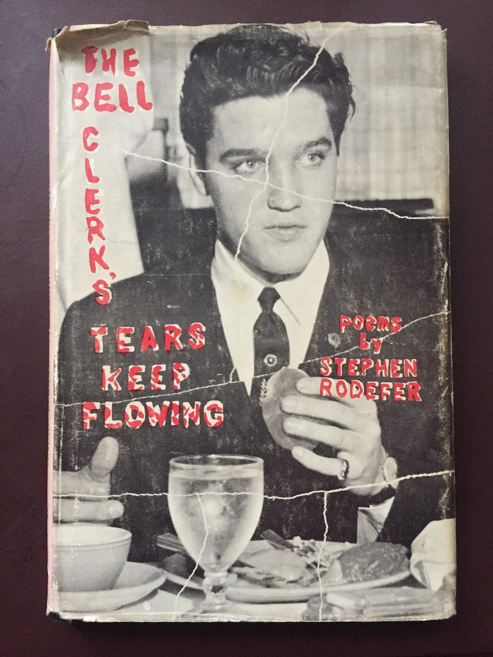 Cover for The Bell Clerk's Tears Keep Flowing by Stephen Rodefer