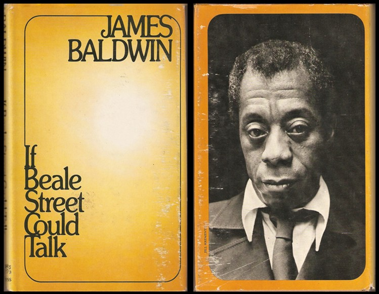 James Baldwin, If Beale Street Could Talk, book jacket